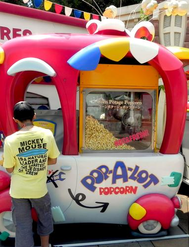 The Corn Potage popcorn stand in Toontown