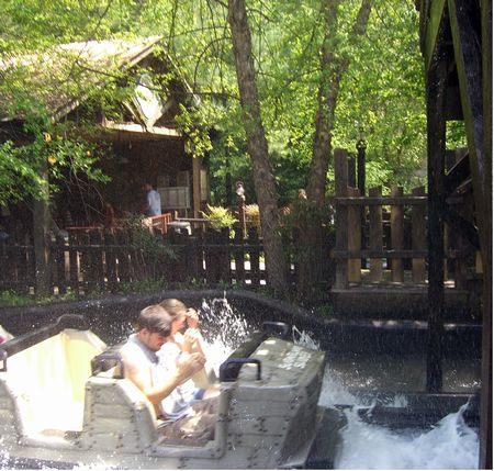 Daredevil Falls photo, from ThemeParkInsider.com
