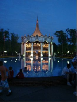 Columbia Carousel photo, from ThemeParkInsider.com
