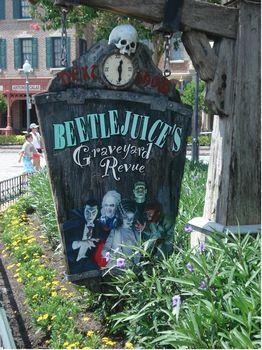 Beetlejuice S Graveyard Revue Photos