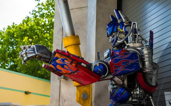 Photo of Transformers The Ride 3D