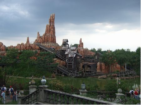 Big Thunder Mountain at Disneyland Paris