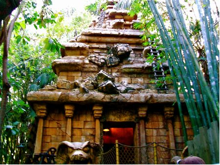Disneyland's Indiana Jones Adventure