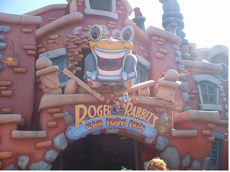 Roger Rabbit's Car-Toon Spin photo, from ThemeParkInsider.com
