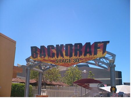 Backdraft Ride Universal Studios