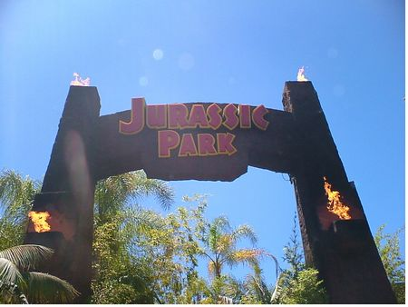 Jurassic Park - The Ride photo, from ThemeParkInsider.com