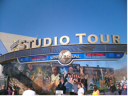 Studio Tour at Universal Hollywood