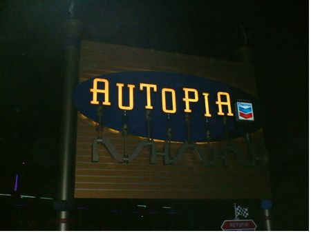 Autopia photo, from ThemeParkInsider.com