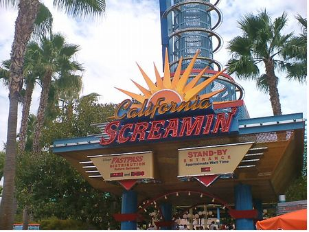 California Screamin' photo, from ThemeParkInsider.com