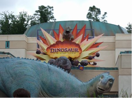 Dinosaur photo, from ThemeParkInsider.com