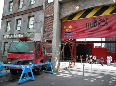 Studio Backlot Tour photo, from ThemeParkInsider.com