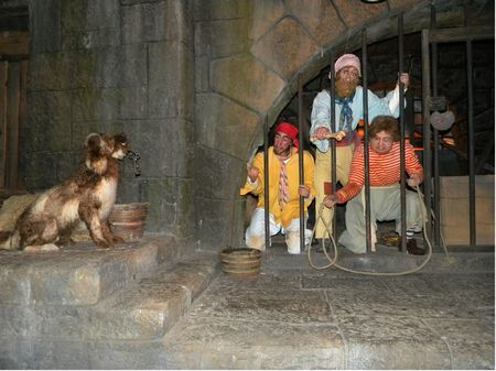Prisoners in Pirates of the Caribbean