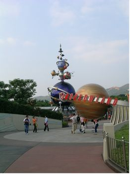 Photo of Hong Kong Disneyland Railroad