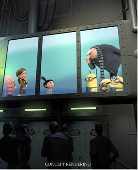 Concept art for Despicable Me