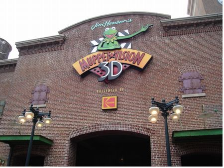 Muppet 3d Hollywood Versopn