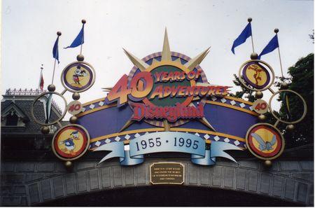 Disneyland's 40th