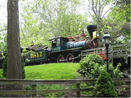 Photo of Worlds of Fun Railroad
