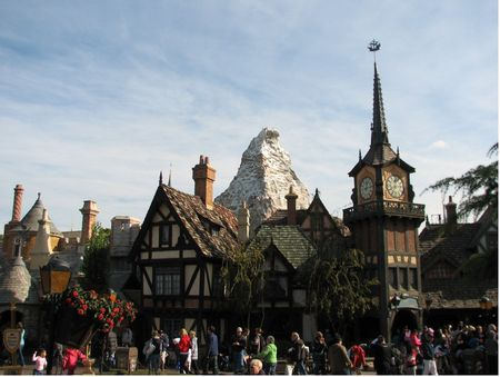 Fantasyland in Disneyland