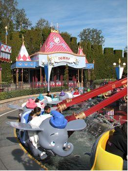 Photo of Dumbo the Flying Elephant