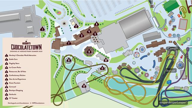 Chocolatetown map