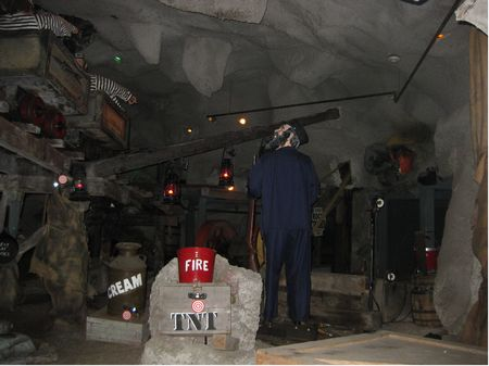 Flooded Mine photo, from ThemeParkInsider.com