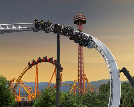 Full Throttle photo, from ThemeParkInsider.com