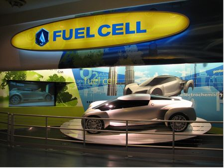Inside Test Track at Epcot's Future World