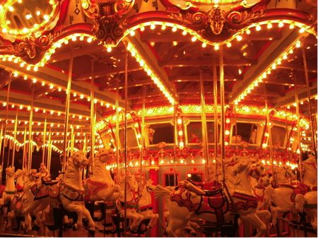 King Arthur Carrousel photo, from ThemeParkInsider.com