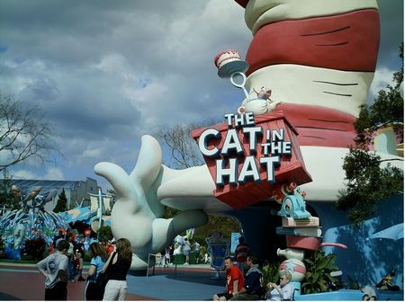 The Cat in the Hat photo, from ThemeParkInsider.com