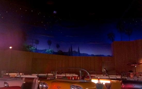 Sci-Fi Dine-In Theater Restaurant photo, from ThemeParkInsider.com