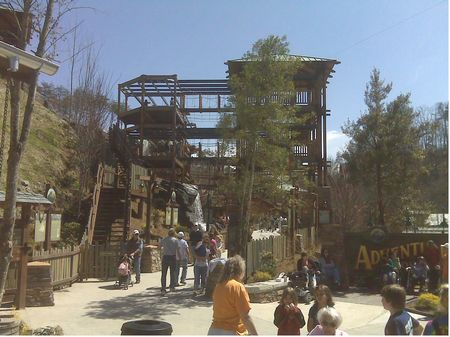 Adventure Mountain photo, from ThemeParkInsider.com