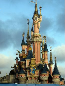 Le Château de la Belle au Bois Dormant at Disneyland Paris