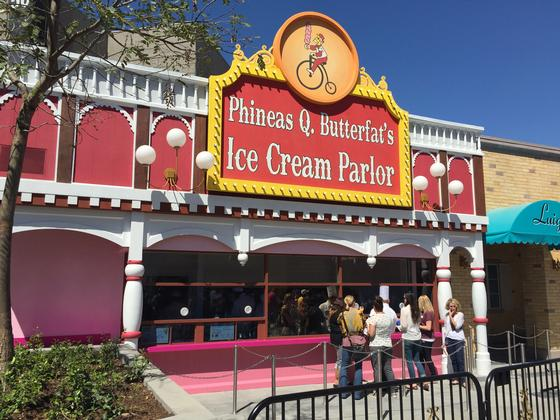 Photo of Phineas Q. Butterfat's Ice Cream