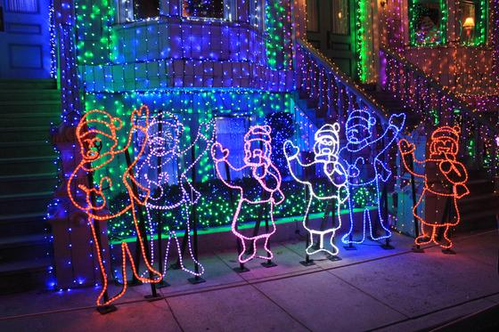 Osborne lights at Disney