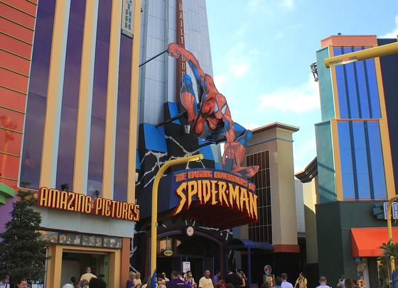 The Amazing Adventures of Spider-Man photo, from ThemeParkInsider.com