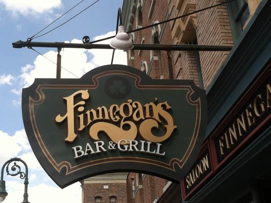 Finnegan's Bar and Grill photo, from ThemeParkInsider.com