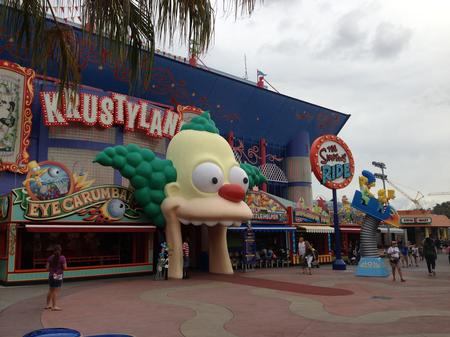 The Simpsons Ride photo, from ThemeParkInsider.com