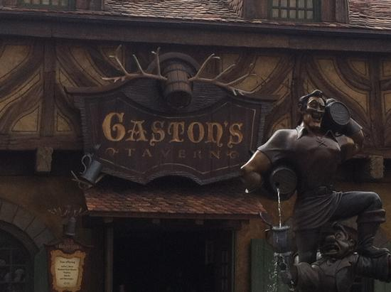 Gaston's Tavern photo, from ThemeParkInsider.com