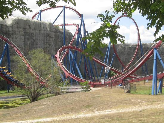 Superman Krypton photo, from ThemeParkInsider.com