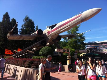 Star Tours photo, from ThemeParkInsider.com