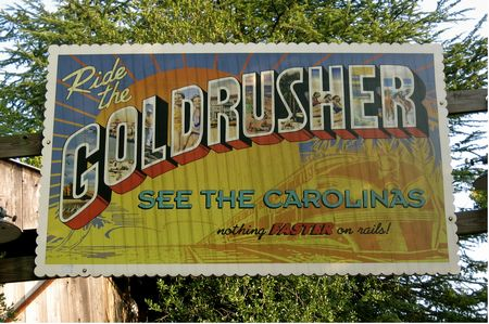 Carolina Gold Rusher photo, from ThemeParkInsider.com