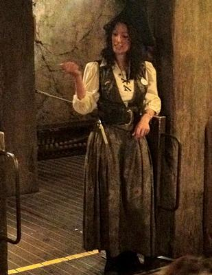 Pirates of the Caribbean operator at Disneyland Paris