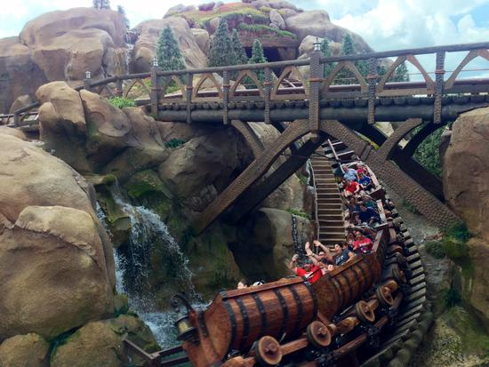 Photo of The Seven Dwarfs Mine Train
