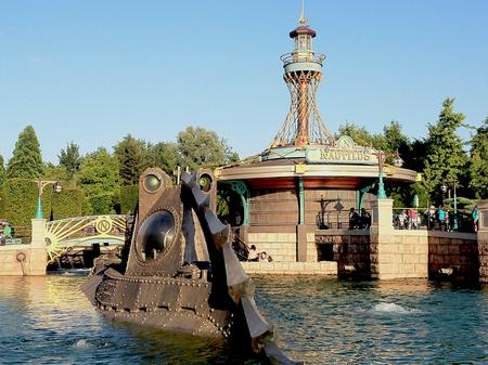 Les Mysteres du Nautilus at Disneyland Paris