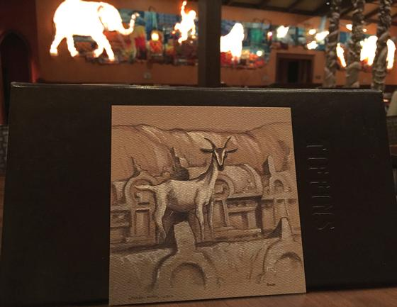 Joe Rohde sketch from Tiffins