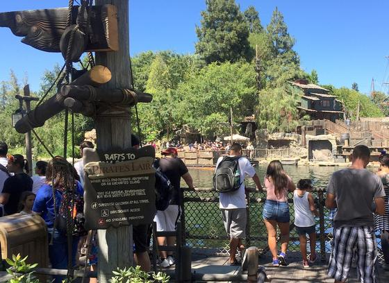 Photo of Pirates Lair on Tom Sawyer Island