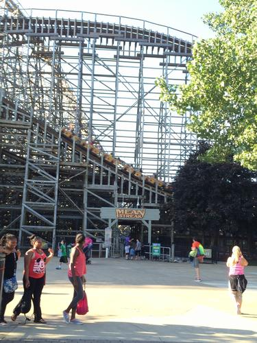 Mean Streak photo, from ThemeParkInsider.com