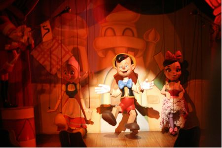 Pinocchio's Daring Journey photo, from ThemeParkInsider.com