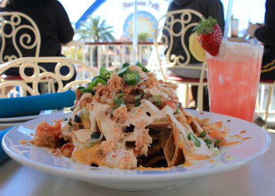 Image result for lobster nachos california adventure