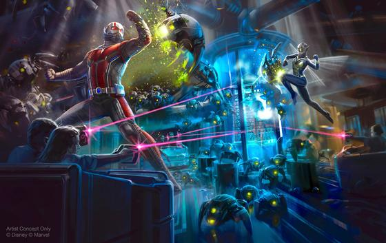 Marvel Super Hero Attraction for 2018 photo, from ThemeParkInsider.com